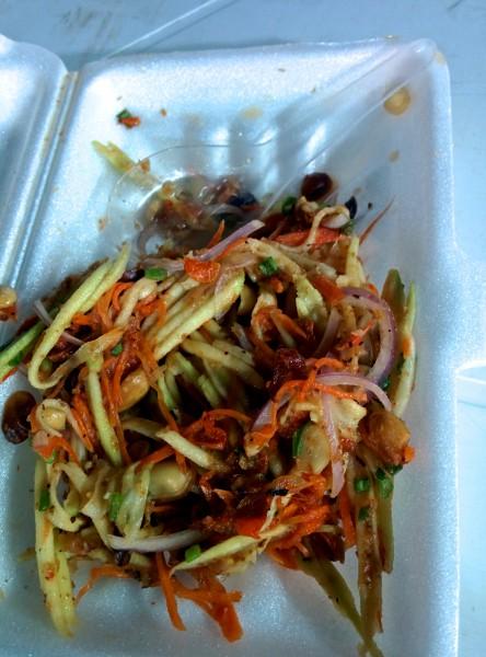 Najbardziej pikantna papaya salad