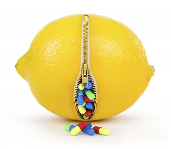 Witaminy z cytryny